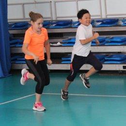 """Тестовые испытания в ВЦ """"Сахалин"""" для желающих заниматься волейболом"""