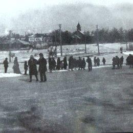 Каток в Александровске-на-Сахалине, конец 1920-х годов