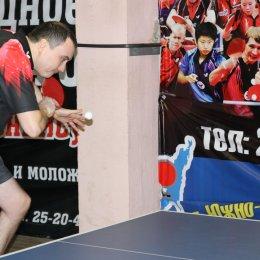 Клубный чемпионат области по настольному теннису