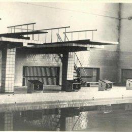 Городской бассейн, середина 1960-х годов