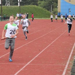 Легкоатлетическая эстафета «Я выбираю бег»