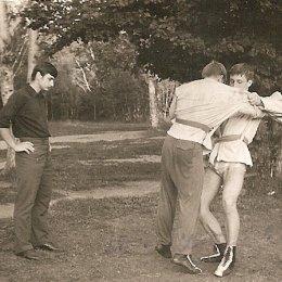 Тренировка сахалинских самбистов, 1970-е годы