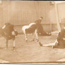 Тренировка сахалинских самбистов, 1960-е годы