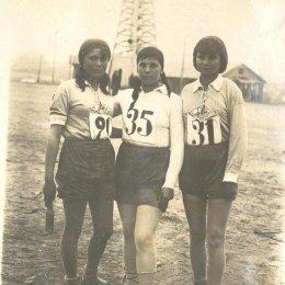 Метание гранаты. Оха, начало 1930-х годов.