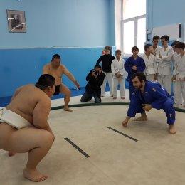 Визит федерации сумо Хоккайдо