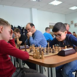 Первый семейный шахматный турнир