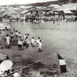 Остров Итуруп. Соревнования в школе селения Шана