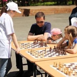 Праздник шахмат, посвященный Международному дню защиты детей
