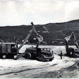 Строительство стадиона «Спартак», 1965-1967 гг.