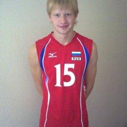 """Волейболист """"Элвари-Сахалин"""" (Михаил Кокошин)"""