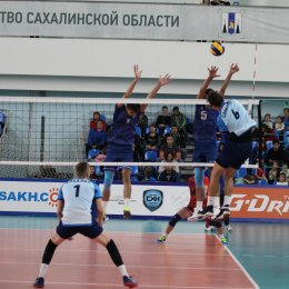 "Матч ""Элвари-Сахалин"" - ""Динамо-МГТУ"" (Майкоп)"