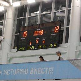 "Матч ""Элвари-Сахалин"" - ""Динамо-МГТУ"" (Майкоп) - 3:2"