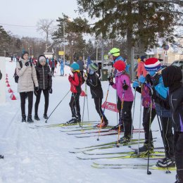 Новогодняя лыжная гонка