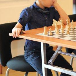 Матч между юными шахматистами и работниками учреждений культуры