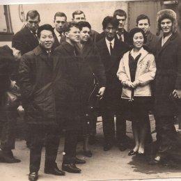 Сахалинские баскетболисты в Японии, 1966 год