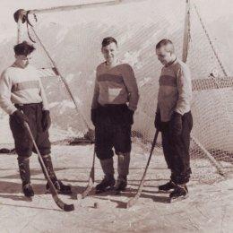 Хоккей с мячом, село Леонидово