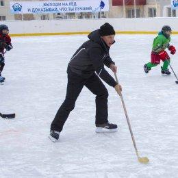 """Хоккейный матч """"Отцы и дети"""""""