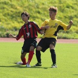 Матч юношеских команд «Водник» (Корсаков) – «Консадорэ Саппоро»