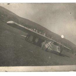 Кружок планеристов в селе Кировское, вторая половина 1930-х годов