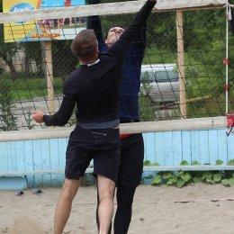 Первый тур чемпионата области по пляжному волейболу