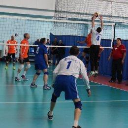Волейбольный турнир ветеранов, посвященный 23 февраля