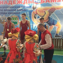 """Всероссийские соревнования по вольной борьбе """"Надежды БАМа"""""""