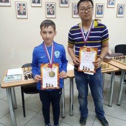 С Виталием И мы победили на турнире по парным шахматам