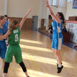 Первенство области по баскетболу среди девушек