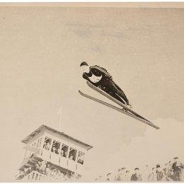 """Прыжок с трамплина на """"Горном воздухе"""", 1966 год"""