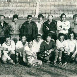 """Футбольная команда """"Мотор"""", 1980-е годы"""