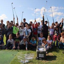 Поездка юных шахматистов в гольф-клуб