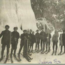 Лыжники Дуэ, 1928 год