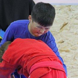 Тренировка по корейской борьбе ссирым в Долинске