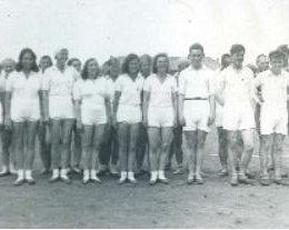 Волейболисты Александровска-на-Сахалине, 1933 год