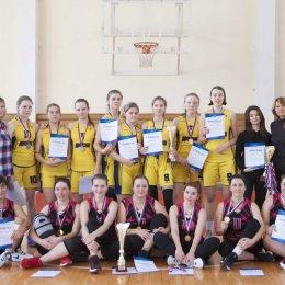 Чемпионат Южно-Сахалинска по баскетболу среди женских команд