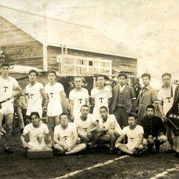 Победители молодежных соревнований в Томариору (начало 1930-х годов)