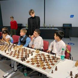 Встреча юных островных шахматистов с международными гроссмейстерами Марией Фоминых и Александром Рахмановым (фотографии Светланы Кругловой)