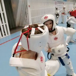«Боевой кумите-марафон» по киокусинкай