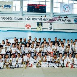 Кубок области по киокусинкай