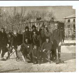 Команда из Александровска-Сахалинского в селе Мгачи