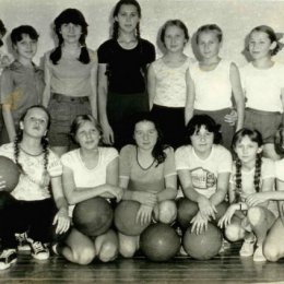 Баскетболистки Шебунино, 1980-е годы