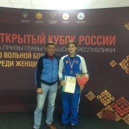 Анастасия Парохина завоевала бронзовую медаль Кубка России