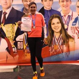 Лариса Жук завоевала две медали чемпионата России по легкой атлетике среди ветеранов