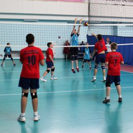 Команды «СШ по волейболу» стали победителями первенства области