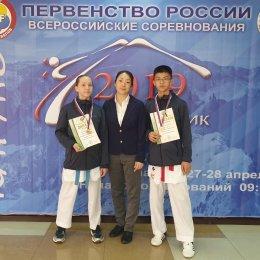 Сахалинские каратисты завоевали две бронзовые медали первенства России