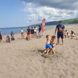 Борьба и футбол объединились на Фестивале пляжных видов спорта