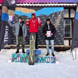 Сахалинские сноубордисты завоевали четыре медали этапа Кубка страны
