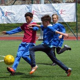 Футболисты СОШ № 8 лидируют в областном этапе турнира «Кожаный мяч»