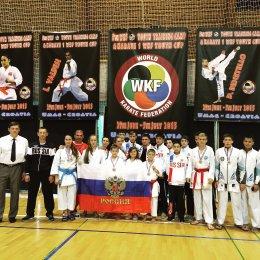 Александр Ушаков завоевал золотую медаль Кубка Мира