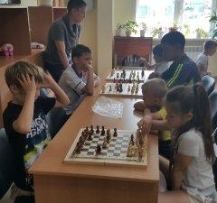 «Атлет» и шахматы